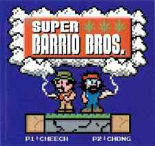 15974 Super Barrio Brothers Cheech Chong Weed Pot Stoners Parody Sticker / Decal
