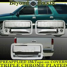 1994-2003 CHEVY S10 GMC Sonoma Hombre Chrome Door Handle 2 door+Tailgate COVERS