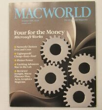 Macworld Magazine Volume 3, #10  October 1986 NM