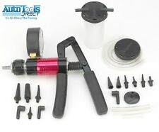 Multi-functional 21 Piece Handheld Vacuum Pump / Brake Bleeder QUALITY EDITION
