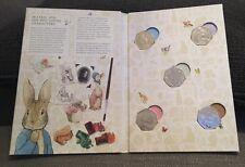 Beatrix Potter Album and all five Beatrix Potter 50p coins