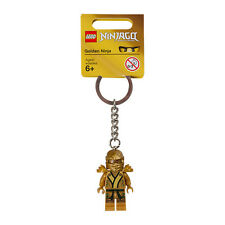KEY CHAIN Lego Golden Ninja Lloyd NEW with Tags Genuine Lego 6031695 850622