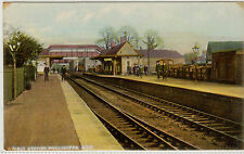 SOMERSET. WELLINGTON RAILWAY STATION. PRINTED. SINGLE.