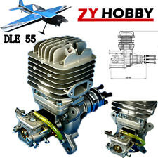 DLE Engine DLE55 55cc Gasoline Engine For RC Airplane ZY01 NEW