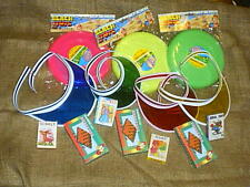BIRTHDAY PARTY SUPPLIES KIDS GAMES, FRISBIES, VISORS/ CARDS / CHECKERS
