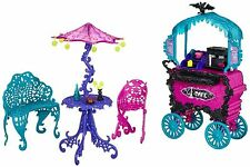 Monster High Doll Cafe Cart Scaris City of Frights Doll Furniture Playset 6-12