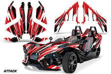 AMR Racing Polaris Slingshot SL Roadster Graphic Kit Wrap Decal 2015 ATTACK RED