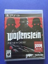Wolfenstein **The New Order** PS3 NEW