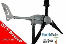 Windgenerator 24V/1000W iSTA Breeze® generator wind turbine,i-1000 Black Edition