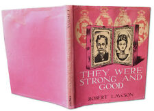Robert Lawson, THEY WERE STRONG AND GOOD, 1st Edition, Caldecott Medal, 1940