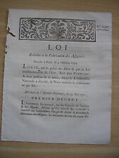 LOI relative à la fabrication des assignats 9 octobre 1791