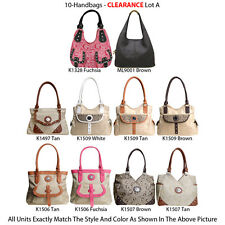 Wholesale Lot - 10 Women's Designer G-Style Handbags - Satchels & Hobo Bags