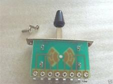 5 Way Pickup Selector Switch For tele Strat style electric Guitar ,Black Tip