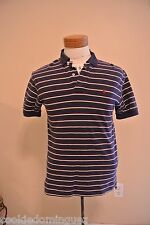 Ralph Lauren Polo Shirt Striped Pony Short Sleeve Polo Size Small Sale!
