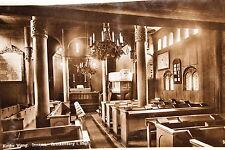 19966 Foto AK Kirche Wang Inneres Brückenberg Riesengebirge um 1930