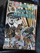 """OLD! 1976 $.30 Comic Bk: """"Fightin' Marines"""" #132 WITH SWASTICA"""