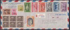 PHILIPPINES, 1946. Reg Victory Cover 485-494, Centralia, WA