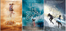 NEW by Shannon Messenger SKY FALL TRILOGY HARDCOVER Book Series Collection 1-3