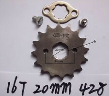16 tooth front engine sprocket for 428 chain motorcycle dirt pit ATV bike parts