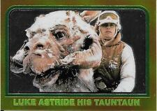 1999 Topps Star Wars Chrome Archives #31 Luke Astride His Tauntaun   Hoth