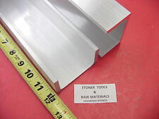 "2 Pieces 3""x 1.75"" ALUMINUM CHANNEL 6061 X .26"" Flang 12"" long T6 Mill Stock"
