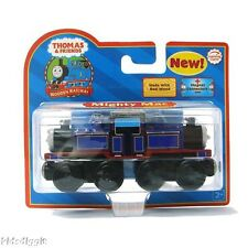 THOMAS THE TANK ENGINE-WOODEN MIGHTY MAC **NIB/2006*RED LABEL W/COLLECTOR CARD**