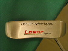 "LASER TW-21-MEMORIAL PUTTER - 35.5"" LONG - MILLED FACE POLYMER INSERT"