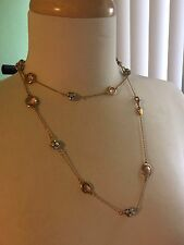 Stella & Dot Chelsea Layering Necklace (Yellow Gold) RETIRED!