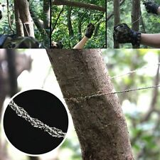 1pcs Stainless Steel Wire Saw Outdoor Practical Emergency Survival Gear Tools RF