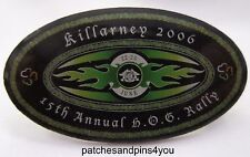 Harley Davidson Killarney 2006 15th Annual HOG Rally Pin. FREE UK P&P!