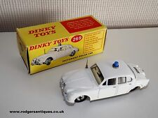 Original Dinky Toys # 269 JAGUAR MOTORWAY POLICE CAR Near Mint in Good Plus Box