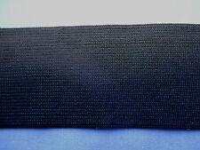 50mm Black Knitted Elastic (Firm)