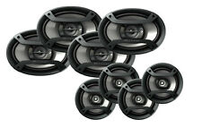 "Two Pairs of Pioneer TS-165P 6.5"" 2 way & TS-695P 6x9"" 3 way Speakers -8 single"