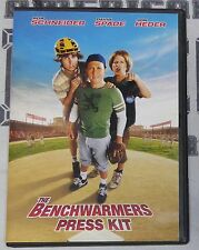 The Benchwarmers Movie Press Kit w/ DVD Production Notes Rob Schneider Jon Heder