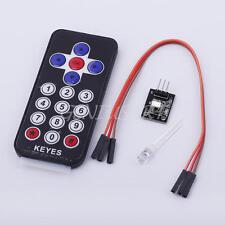 IR Infrarossi Kit Sensore Ricezione Controllo Telecomando 17 Tasti Per Arduino