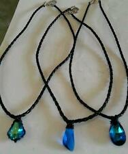FULL SET OF H20 JUST ADD WATER NECKLACES (CLEO, BELLA, RIKKI) SWARVOSKI CRYSTAL