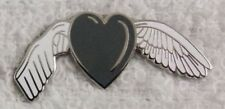 **NEW** Brain Cancer / Tumour Awareness Remembrance angel enamel badge.Charity.