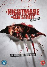 A Nightmare On Elm Street: 1 2 3 4 5 6 7 Complete Box Set Collection | New | DVD