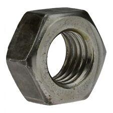 10x DIN 934 Sechskantmuttern. Feingewinde M 10 x 1. Stahl Klasse 8 geschwärzt