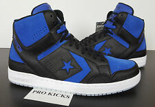 CONVERSE WEAPON MID BLACK ROYAL BLUE AJ1 JORDAN 1 RARE QS NEW 150526C (SIZE 12)