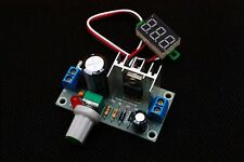 LM317 Rectifier Filter Module AC to DC Power Supply Converter 1.3-35V Display