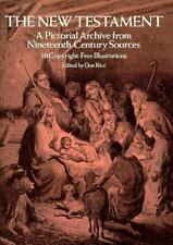 The New Testament: A Pictorial Archive from Nineteenth-Century Sources-ExLibrary