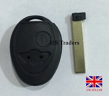 Replacement 2 Button Remote Key Fob Case Shell + Uncut Blade For BMW Mini Cooper