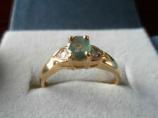 FAB COLOUR CHANGE 18K RUSSIAN ALEXANDRITE DIAMOND RING 0.36ct CERTIFICATE AUTH~