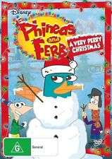 Phineas And Ferb - A Very Perry Christmas (DVD, 2010) region 4