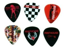 Penthouse Rock Guitar Picks 6 Pack Sexy, Hot, Collectable, lingerie, models,nude