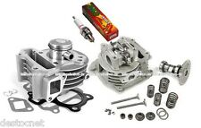 Kit cylindre piston Culasse joint Arbre à came soupapes Scooter Chinois 50 4T