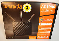 Tenda Network AC15 Wireless AC1900 Smart Dual-band Gigabit WiFi Router Retail