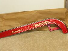 "Vintage 60's -70's NOS Schwinn ""Traveler"" Hockey Stick Chainguard - Radiant Red"