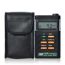 TES-1333R Solar Power Meter Digital Radiation Detector Solar Cell Energy Tester